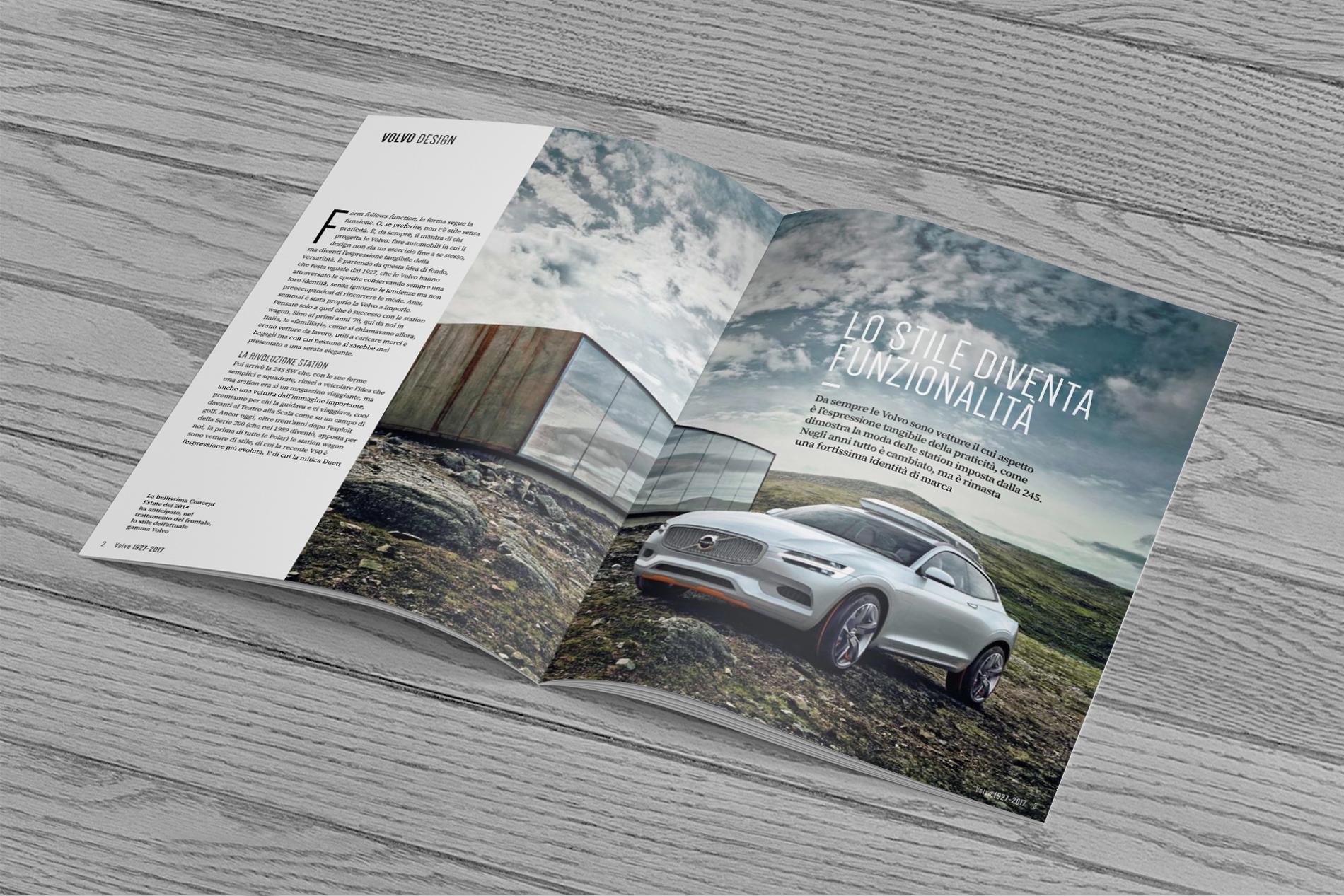 Volvo magazine