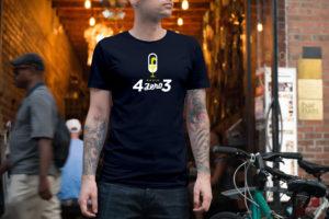 Tshirt Blu 02 4ZERO3
