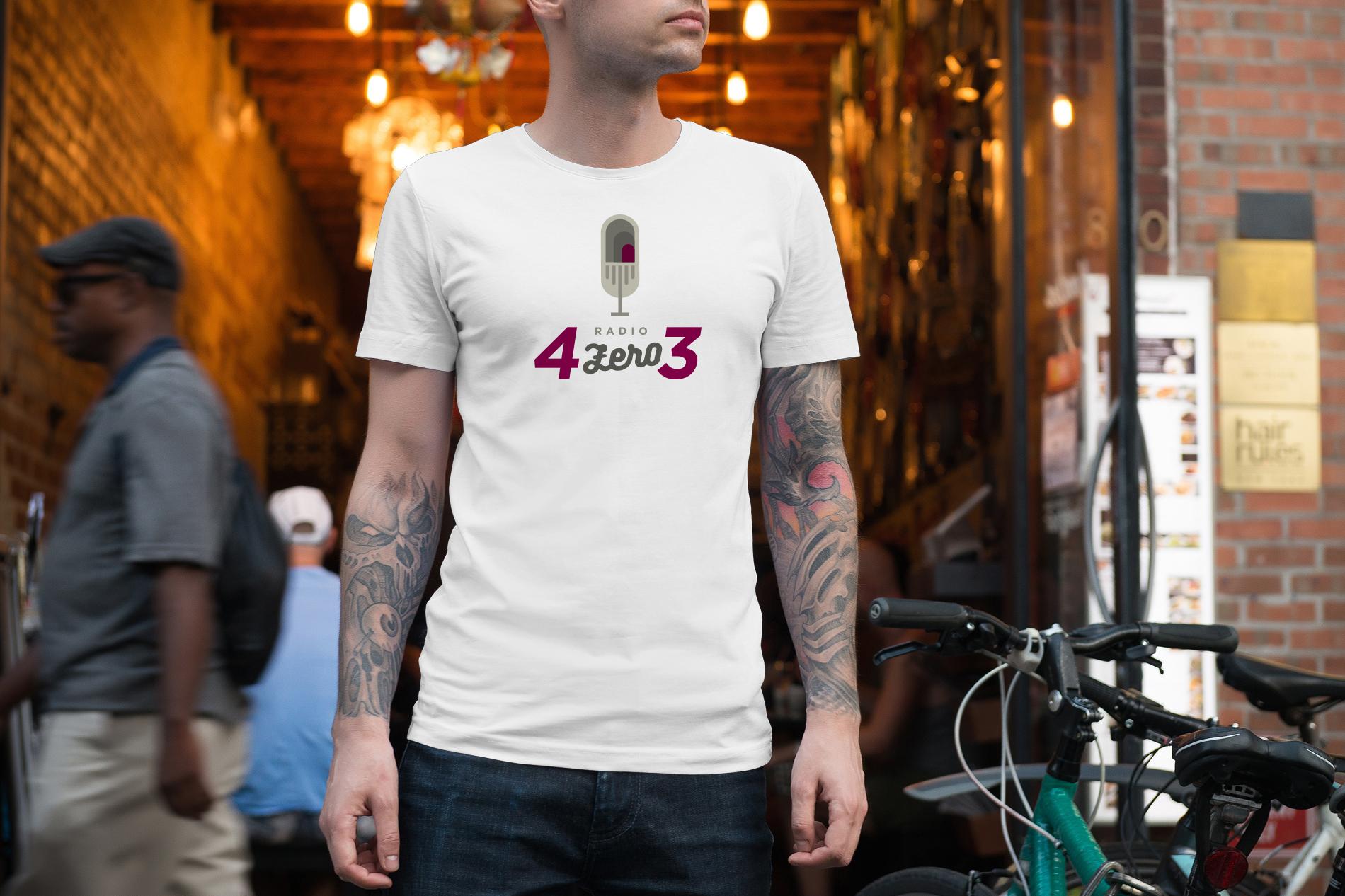 Tshirt White 01 4ZERO3